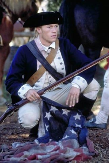 Heath Ledger in The Patriot   Let's Get Personnel: Hot Military ...