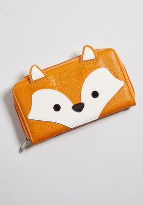 bfbcc7537 Clever Have I Ever Fox Wallet in Orange