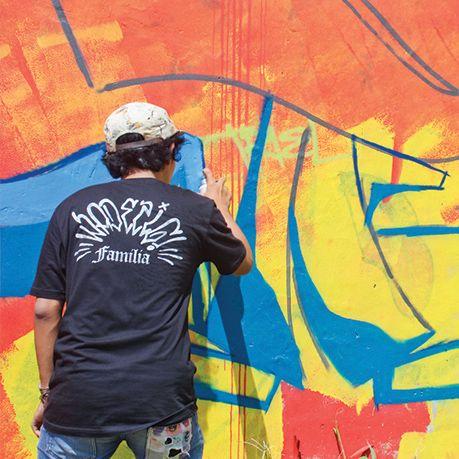 Burn The Flowers Bandung's Graffiti Jam on Behance!