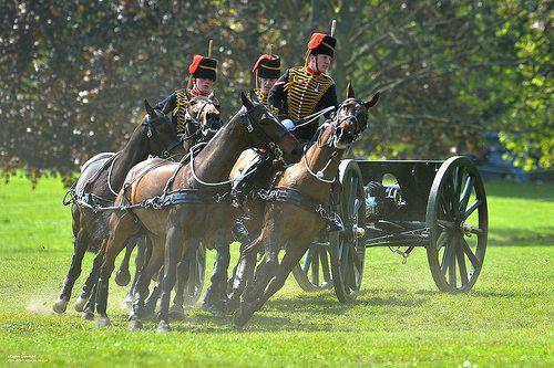 Kings Troop Royal Horse Artillery