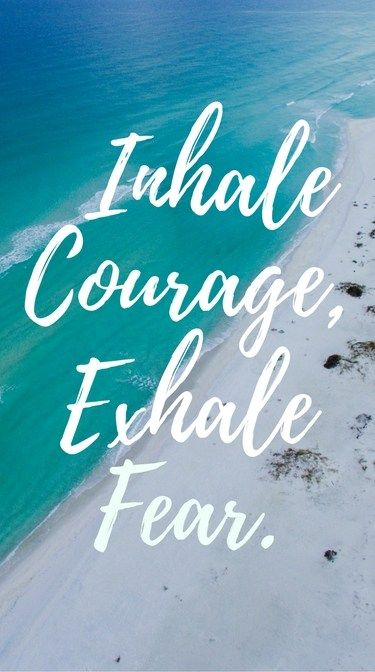 Facing your fears quotes are perfect for anyone who needs to be reminded to face fears on a daily basis. Download to use as your phone background!
