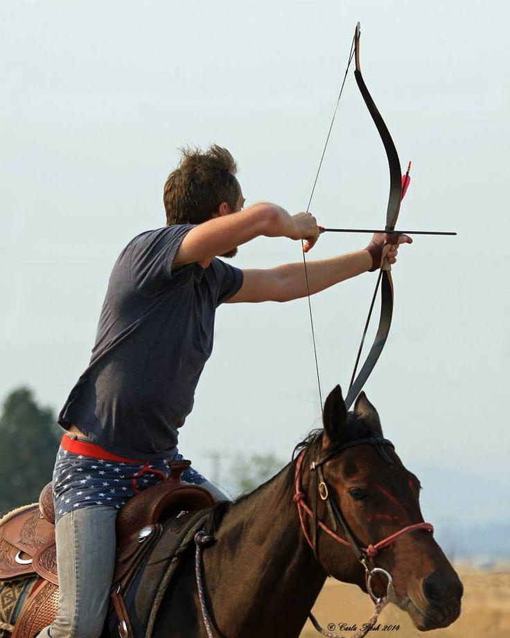 Cody Jones from the Broken Arrow Mounted Archers