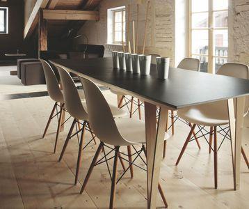 les 25 meilleures id es concernant tables tr teaux sur pinterest tables de salle manger. Black Bedroom Furniture Sets. Home Design Ideas