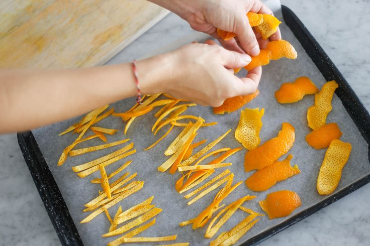 I make so many recipes that usedried orange peel, I thought, why not make a big batch of it? Here's how to make dried orange peel and five uses for it.