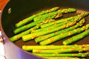 Kalyn's Kitchen®: Recipe for Pan-Fried Asparagus Tips with Lemon Juice and Lemon Zest