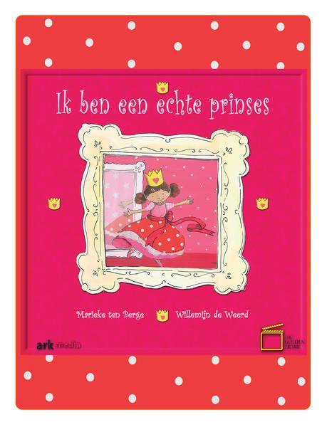 Ik ben een echte prinses. Lisa wil een prinses zijn.  Natuurlijk is haar vader de koning.  Maar alles gaat mis; de kroon mislukt en haar jurk zit onder de lijm.  Gelukkig schiet papa te hulp.  Dit lieve prentenboek is speciaal voor meisjes die het liefst een prinses zouden zijn.  Het verhaal illustreert de bijzondere band tussen God, de koning, en zijn kinderen. Marieke ten Berge & Willemijn de Weerd