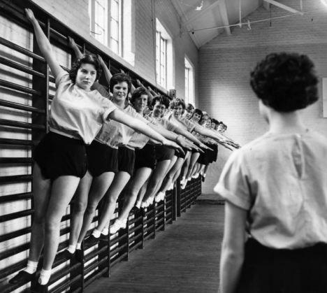 gym class / P.E. 1956