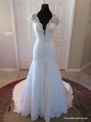 Kenneth winston bridal gown a collection of ideas to try for Last minute wedding dress