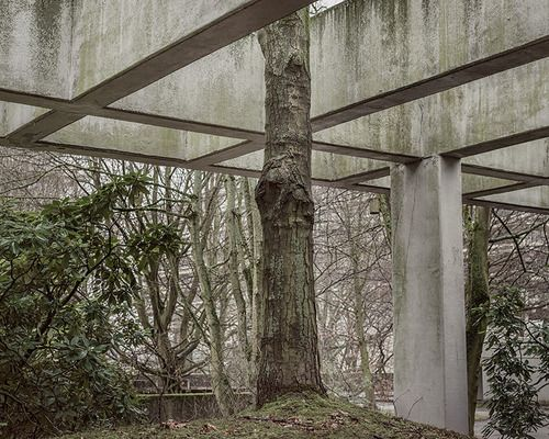 UNLIKELY GARDENERS: BRUTAL BACKYARDS. From Derek Jarman's shingle-littered landscape to the concrete chaos of Xilitla, Mexico, our pick of a different kind of great garden. Photo:Ruhr Universität Bochum by Martin von Hadel