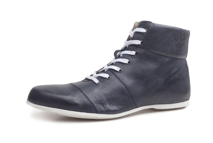 Saint Vacant Ankle boot, navy leather