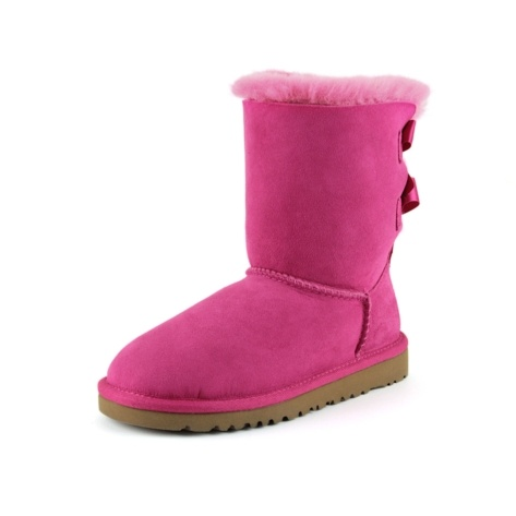 Shop for ToddlerYouth UGG® Bailey Bow Boot in Fuchsia