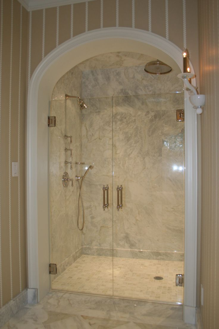 Bathroom shower doors frameless - Frameless Glass Shower Doors Frameless Shower And Tub Enclosures Single And Double Frameless