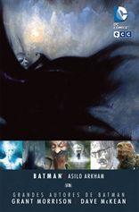 """Asilo Arkham, Batman"" escrito por Grant Morrison e ilustrado por Dave Mc Kean"