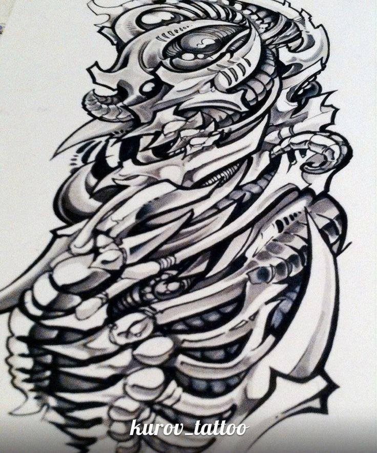 эскиз биомеханика