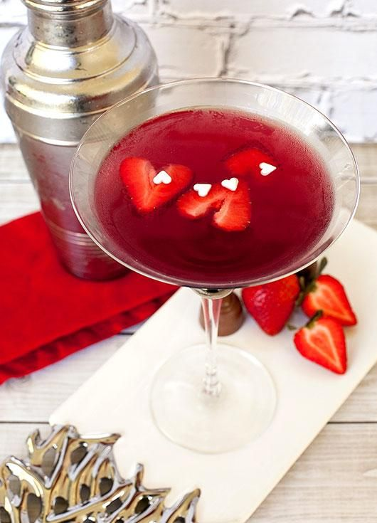 True Love Valentine Martini