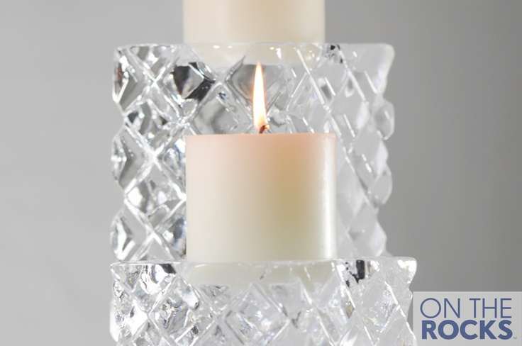 Ice Sculpture #Ice #CandleSticks