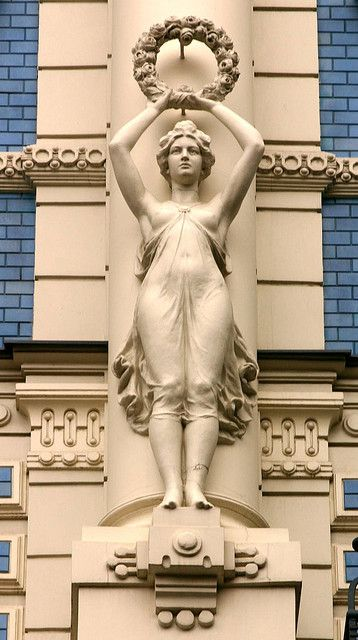 Art Nouveau Architecture | Art Nouveau architecture, Riga | Flickr - Photo Sharing!