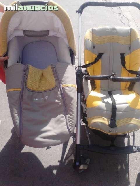 . Vendo cochecito con capazo marca bebe confort en perfecto estado, f�cil plegado y muy ligero.  Regalo funda de la silla y pl�stico del capazo.  Atiendo whatsap