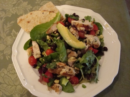 Southwest Chicken Salad - very colorful and delicious!