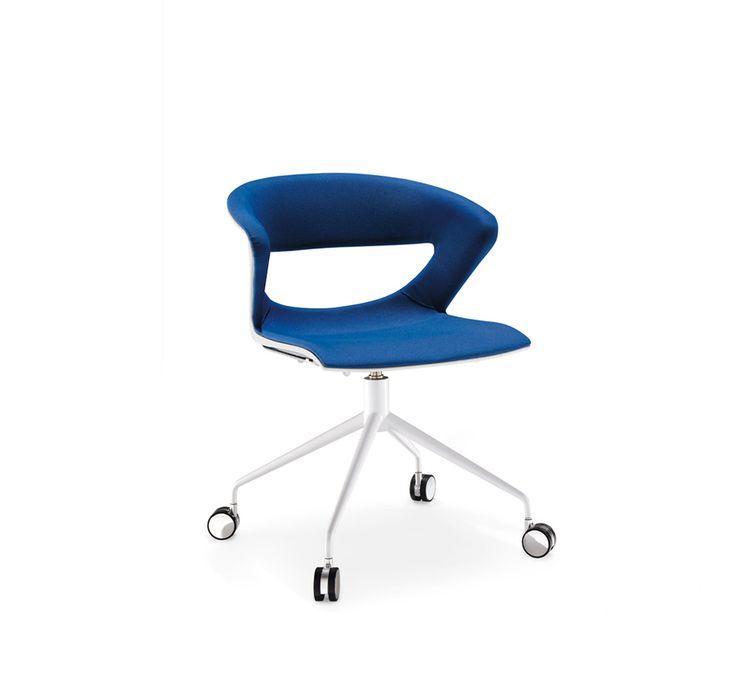 Raffinatezza e contemporaneità per la sedia design Kicca di Kastel