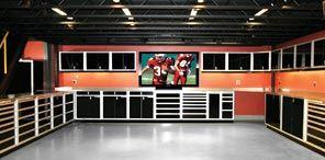 Cool garage cabinets