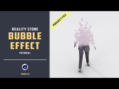 Turn anything into bubbles like thanos [CINEMA 4D TUTORIAL