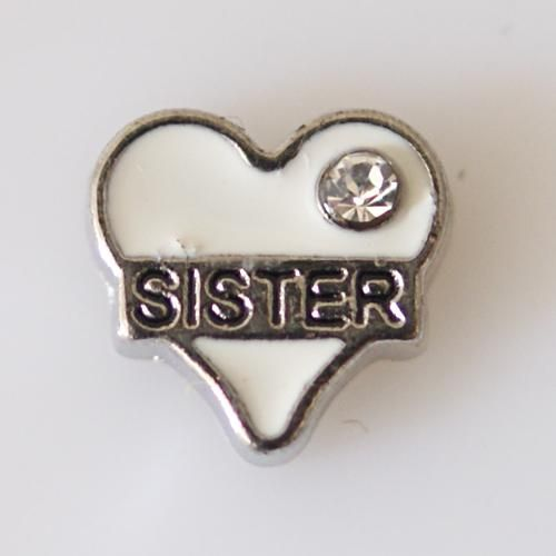 #76046 - Floating Locket Charms - Sister