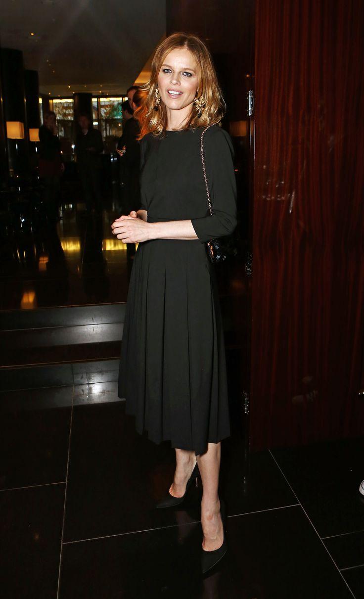 Eva #Herzigova at the  Rivea party in #London, May 2014.