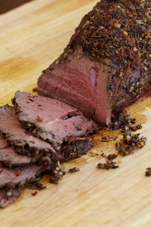 Perfect Roast Tenderloin of Beef. This would be a perfect winter main ...