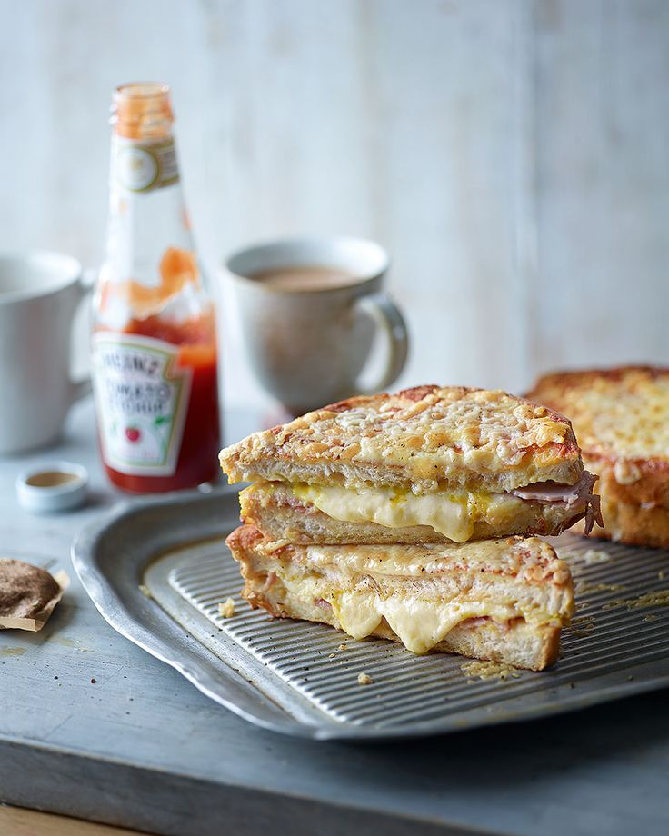 When you can't choose between eggy bread or a toastie for brunch, Dan Doherty's recipe combines the two for something seriously comforting.