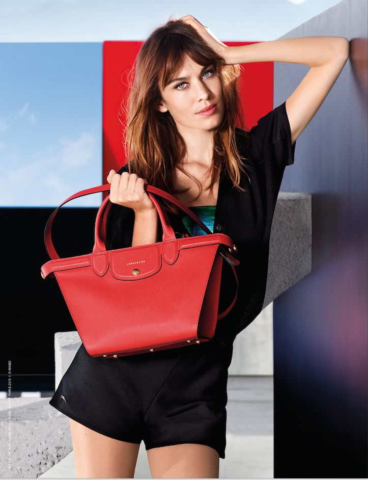 Longchamp Spring 2015 new campaign. Discover it on www.longchamp.com #LongchampHeritage