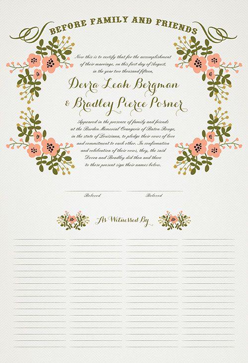 Best 25+ Marriage certificate ideas on Pinterest Wedding - sample marriage certificate