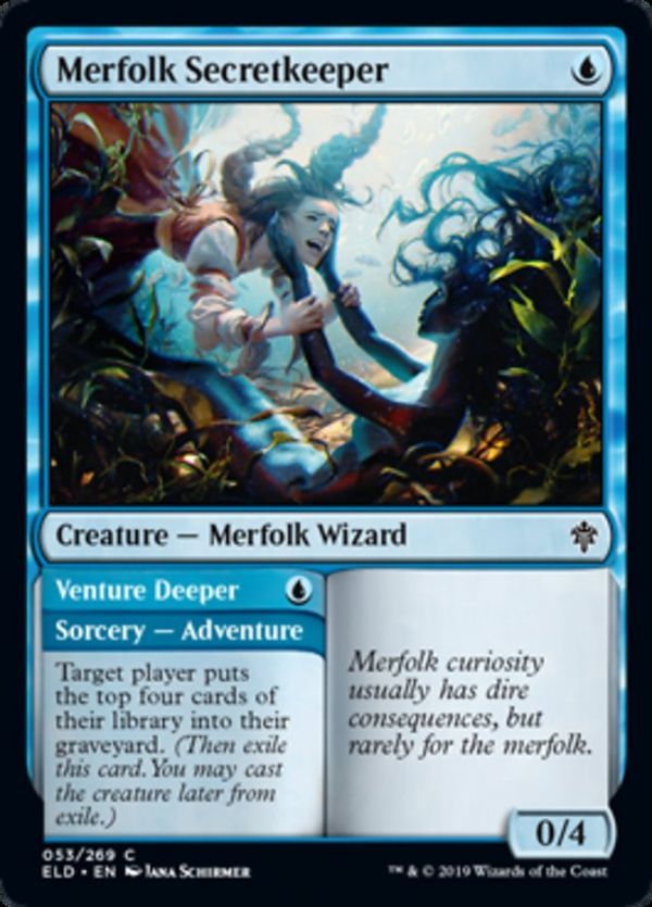 TALENT OF THE TELEPATH Magic Origins MTG Blue Sorcery Rare