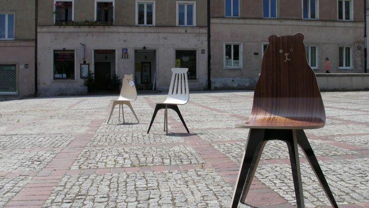 Krzesło Miś i Ulubione. Fot. Tu Patrz! Wzorcownia