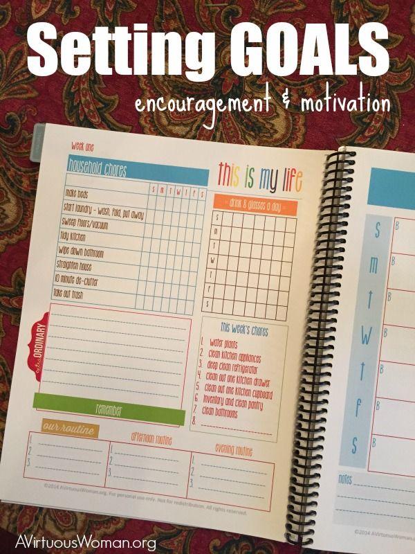 setting goals  encouragement  u0026 motivation