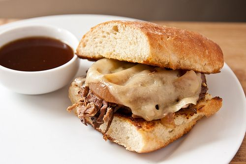 Crockpot French Dip Sandwiches | Au jus, French and French dip
