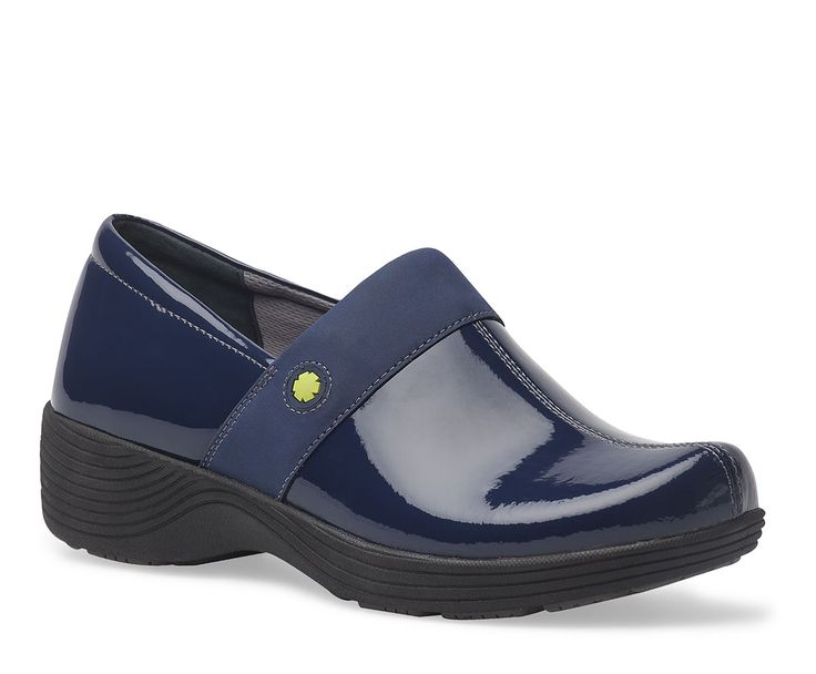 Work Wonders by Dansko. Shown Camellia Navy Patent Leather from the Fairfax collection. #nurse #nurselife #shoes #clog #scrublife #scrubs #md #rn #medicine #medical #healthcare #uniform #dansko #nursingproblems #nursepractitioner #nursingschool #pediatricnurse #militarynurse #staffnurse #fall