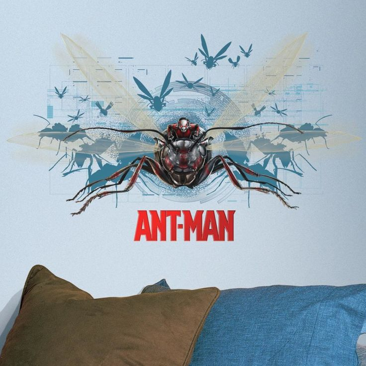 Internet Only Ant-Man Wall Decal