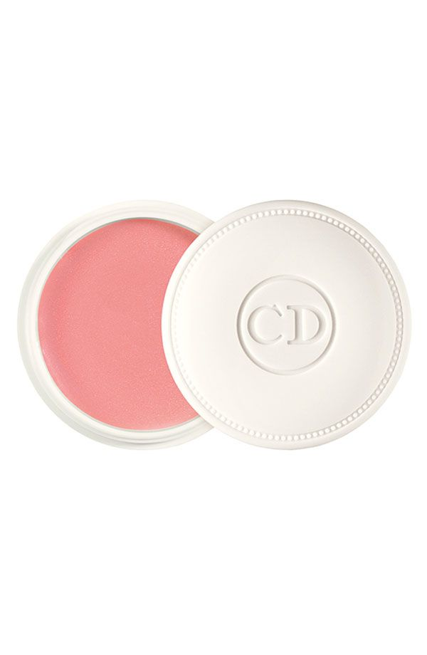 Always in the handbag | Dior 'Crème de Rose' smoothing plumping lip balm.