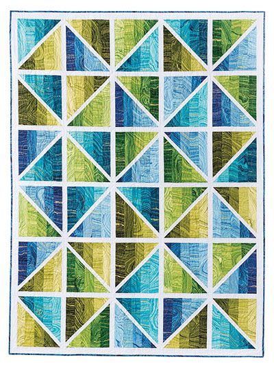 Jelly Roll Quilt Patterns - Exclusively Annie's Prismatic Quilt Pattern