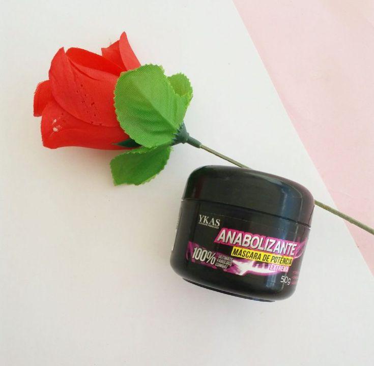 resenha do anabolizante capilar da ykas cosméticos