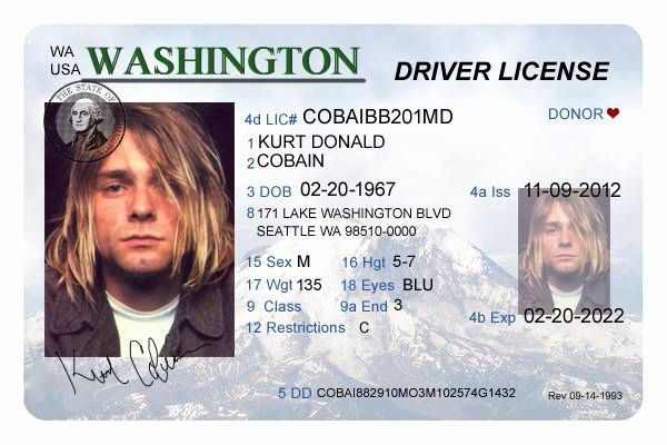 Id Card Template Photoshop Elegant 38 Best Driver License Templates Photoshop File Images On Drivers License Id Card Template Death Records