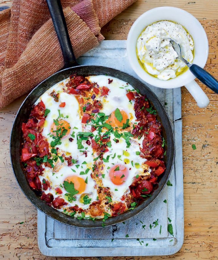 19 best turkish recipes images on pinterest turkish food recipes a fantastic brunch recipe made by baking eggs in a fragrant tomato sauce forumfinder Choice Image