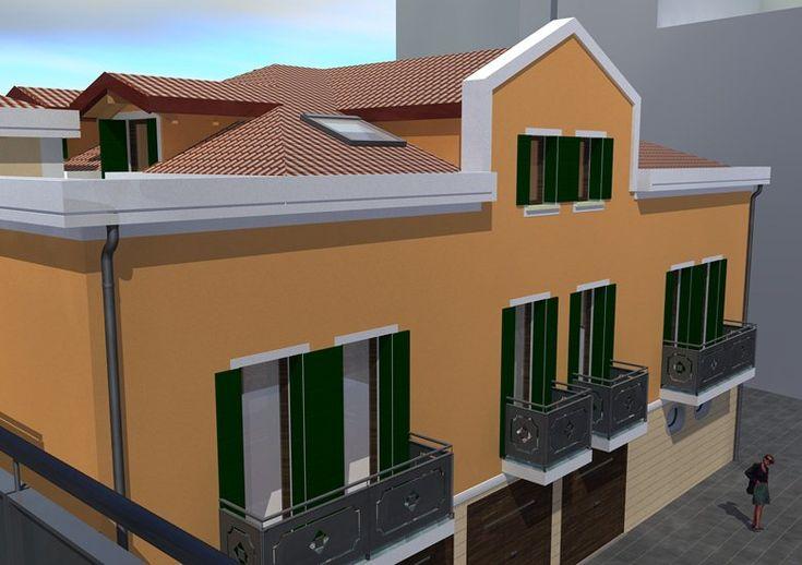 Recupero di un ex retificio per realizzazione appartamenti, Chioggia, 2010 - Denis Rudellin