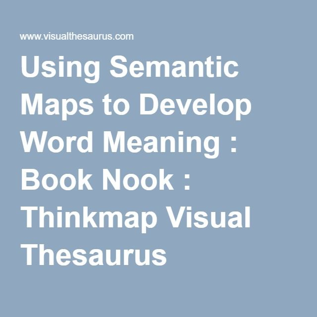 Develop Synonyms Thesaurus - Idee per la decorazione di interni