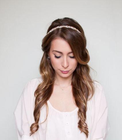 Tremendous Hair Straightforward Half Up Half Down Concepts