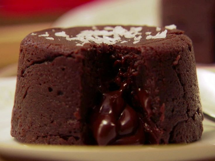 Chocolate Molten Cakes recipe from Claire Robinson via Food Network