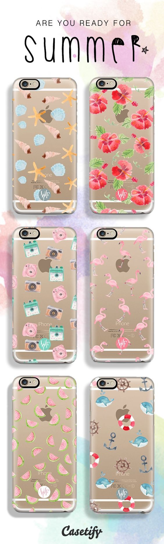 some cute phone case collections for the summer