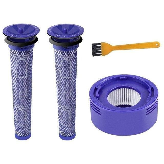 3pcs Post Motor Hepa Filters Replacement For Dyson V8 V7 Cordless Vacuum Cleaners Cordless Vacuum Cordless Vacuum Cleaner Hepa Filter