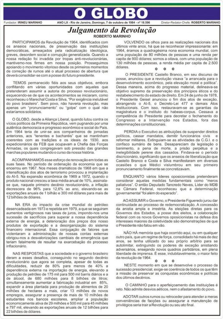 materia o globo de 07-10-1984-2008-2
